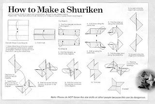 fold a shuriken