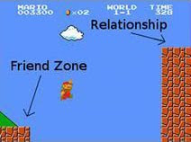 friendzone relationship Super Mario