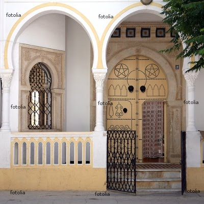 Tunisie maison tunisienne traditionnelle
