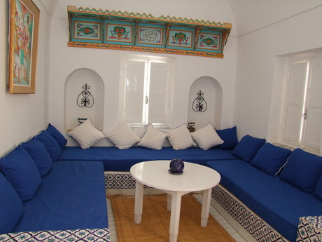 Interieur maison tunisienne for Interieur tunisie
