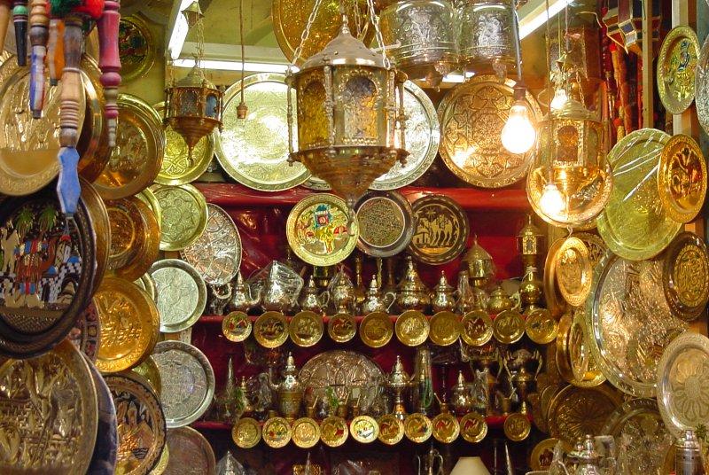DOCK EVENTS TUNISIE octobre 2010 # Diffuseur Cuivre De La Medina