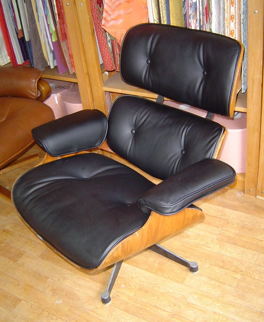 etablissement fortun p re et fils sellerie fortun fauteuil charles eames. Black Bedroom Furniture Sets. Home Design Ideas