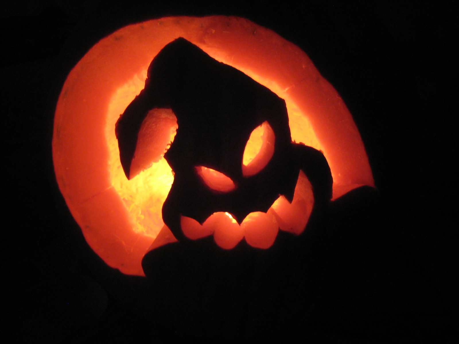 Oogie Boogie Nightmare Before Christmas Pumpkin Stencil