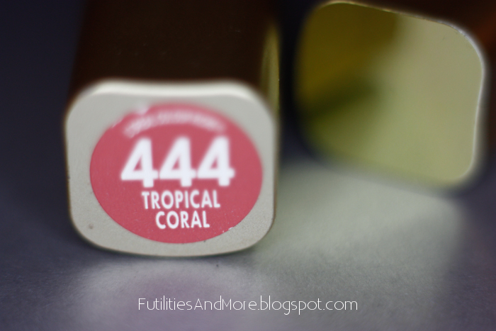 Tropical Coral, l'Oréal, nude lipstick, l'oreal lipstick, lipstick, futilitiesandmore, futilitiesandmore.blogspot.com imageanchor=
