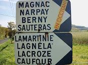 Un panèu monolingüe francés