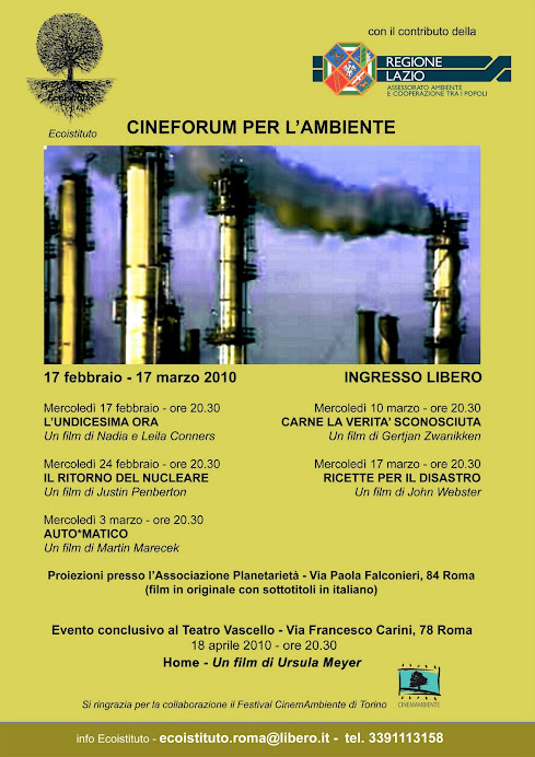 Cineforum per l'ambiente a Monteverde
