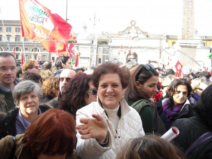 13 marzo, piazza del Popolo