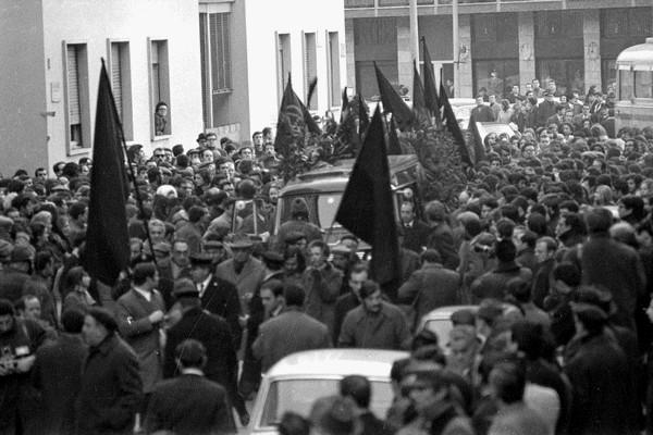 Strage di Piazza Fontana, Milano - 20 dicembre 69: Morte di un anarchico