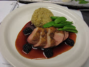 Sauteed Breast of Duck with Blackberry Gastrique