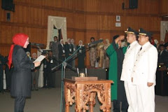 Pelantikan Wali Kota Cilegon