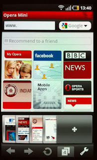 opera mini for galaxy s