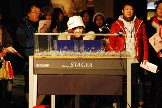 エレクトーンの島田由美子さんの写真