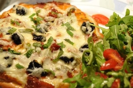le bonheur est sans gluten pizza sans gluten vite fait