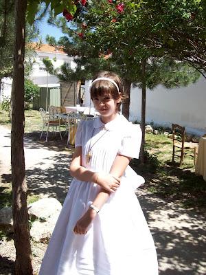 vestidos de primera comunion en guadalajara. ayer la primera comunión.
