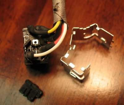 my diys and other stuff loose power jack repair for hp pavilion i disassembled the jack itself to see if anything were loose inside
