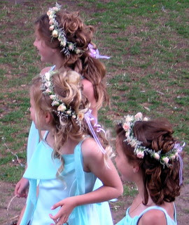 stressed junior bridesmaids