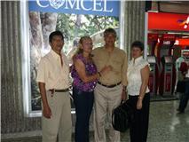 nelson,mi esposa Carla,Cesar y Emilse.