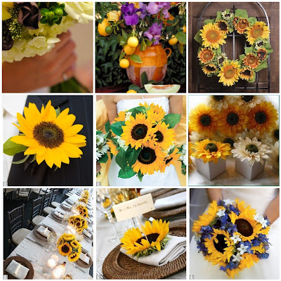 Sunflower Themes for Weddings