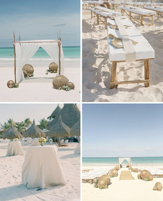 As we work on more beach theme wedding ideas for Brenda at PS Events