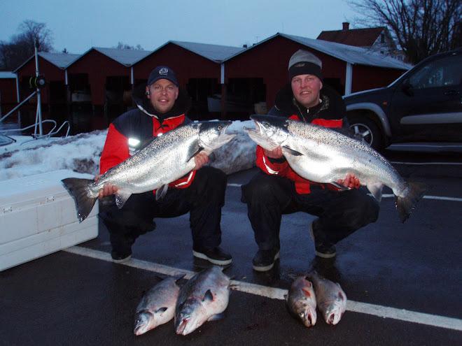 Drömfiske i vättern våren 2007
