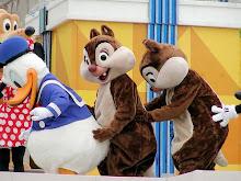 Disney Conga line