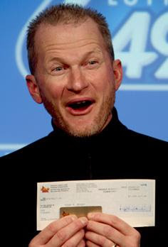 Sean Mayer - American Lottery Winner In Canada