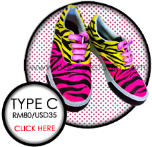 click here for more Type C shoes