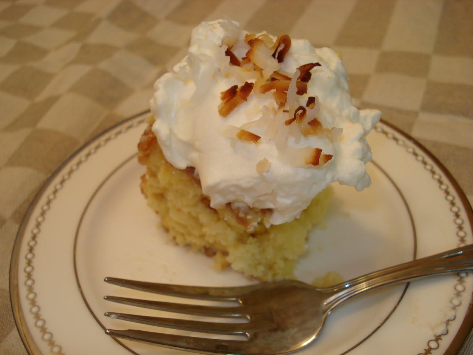 Rozlynn Bakes: Coconut Tres Leches Cake