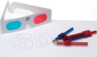 kit per disegnare e fare scarabocchi in 3D, occhiali inclusi