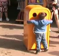 guarda il video dell'incontro tra il recycle bin e Alberto!