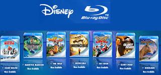 I nuovi dvd blu-ray disc della Disney per vedere film in alta definizione full HD!