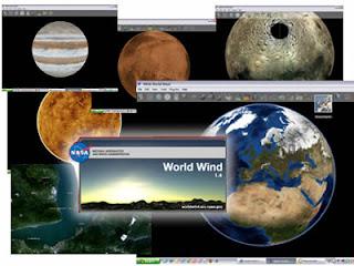 software 3D Nasa per conoscere meglio la terra e i pianeti
