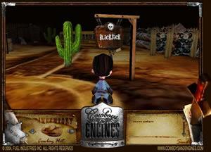 cowboys and engine, un nuovo gioco interattivo 3d online
