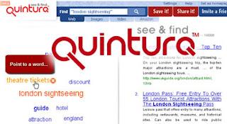 Quintura, il motore di ricerca semantico alternativo a google
