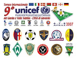torneo di calcio internazionale del garda UNICEF categoria giovanissimi