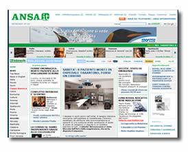 il sito Ansa