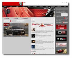 il sito ufficiale Alfa Romeo