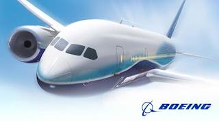 il nuovo aereo boeing 787