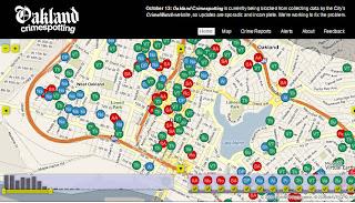 mappa interattiva online sullo studio del crimine nelle città