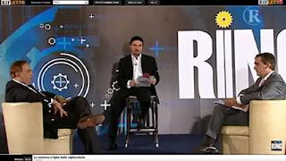 internet tv rifletto con la prima puntata di RING