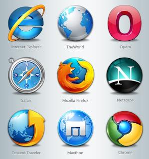 icone gratis 3d per browser
