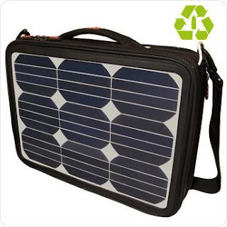 borse per portatili a pannelli solari. E il problema energia è risolto!