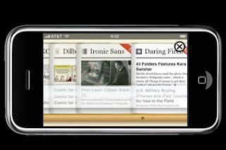 applicazione iphone rss reader