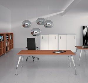 esempio di arredamento per uffici presidenziali con gusto, immagine e qualità in stile Apple!