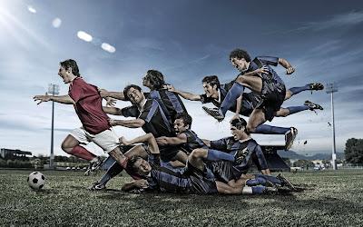 azione nel calcio moderno