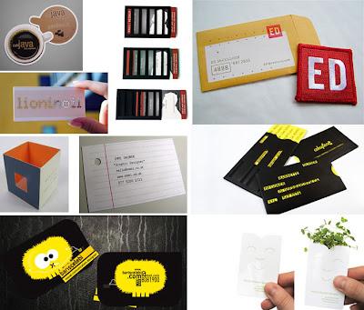 alcuni esempi di biglietti da visita creativi da cui prendere ispirazione per realizzare un biglietto da visita unico e sicuramente che tutti ricorderanno!