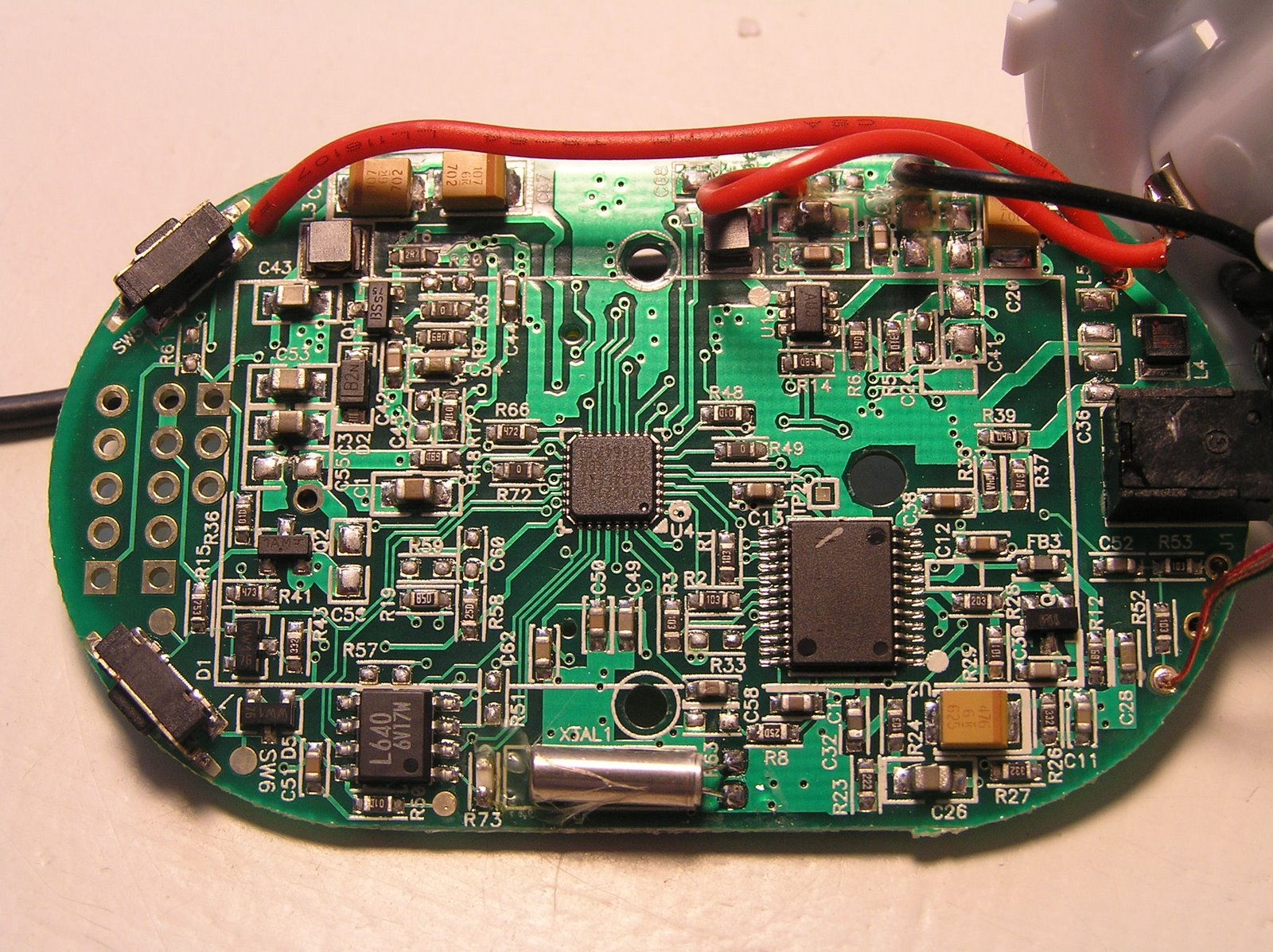 Arduino Led Matrix moreover Conversion Of Cheap Optical Mouse To further Showthread also Simple Belkin Tunecast 3 Mod To Boost moreover Can This Avr Mcu With 5v I2c Work With This Sensor With 3 3v I2c. on one s circuit schematic