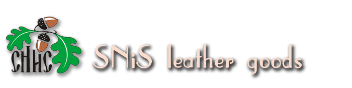 SNiS leather goods