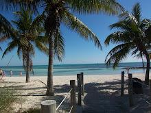 beach stop before golf.