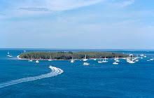 a little offshore island.